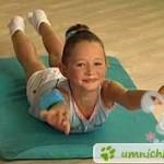 """Лечение сколиоза у детей: упражнение """"лодочка"""""""