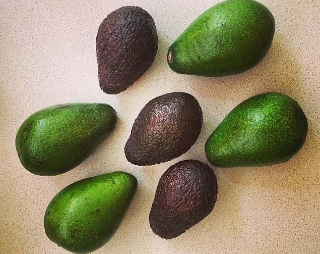 Цвет авокадо