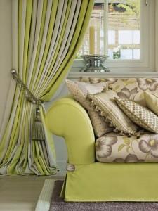 Смешанный текстиль в интерьере