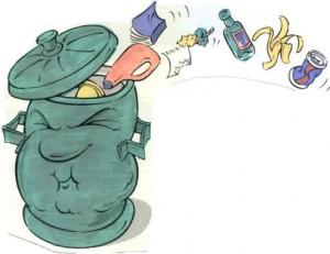 бытовые отходы и мусор