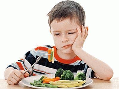 Ненатуральные овощи опасны для детей