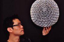 Дизайнерские лампы… из мусора