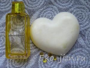 Идея для подарка — мыло-сердечко своими руками!