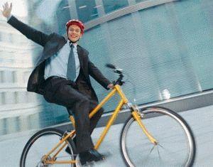 Ездить на велосипеде на работу