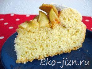 Пирог с яблоками и имбирем