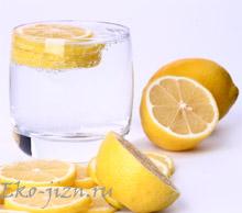О пользе воды с лимоном: просто и здорово