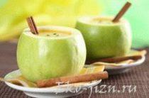 Лечебное блюдо из зеленого яблока