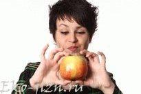 Яблочный десерт для кожи