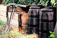 Organicheskaja utilizacija musora urny s chervjami