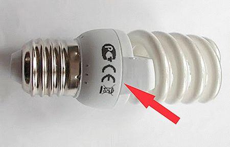 Разборка корпуса лампочки