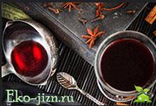 Безалкогольный глинтвейн. Популярные рецепты