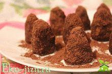 Оригинальное домашнее лакомство — шоколадные трюфели