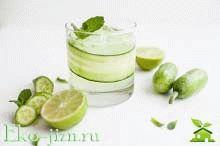 Польза и вред огуречного сока