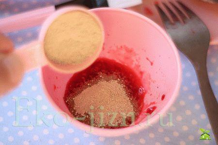 Добавить бедую глину