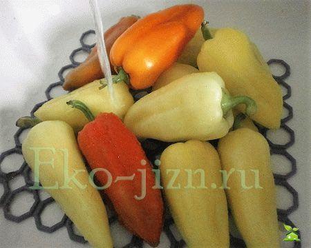 Подготовить овощи к заморозке