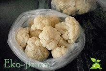 Заморозка цветной капусты на зиму пошаговый фото рецепт + личные секреты идеально замороженной капусты
