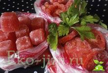 Как заморозить свежие помидоры на зиму рецепт + пошаговые фото процесса. 3 разных способа заморозки