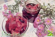 Варенье из айвы: рецепт с пошаговыми фото Необычный рецепт с черной смородиной