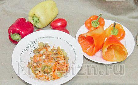 Начинка из овощей для перцев