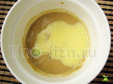 Кефирно-яичная смесь