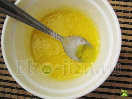 Желток масло оливы и авокадо