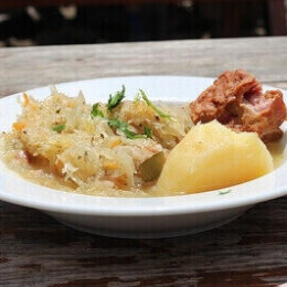 Блюдо из квашеной капусты